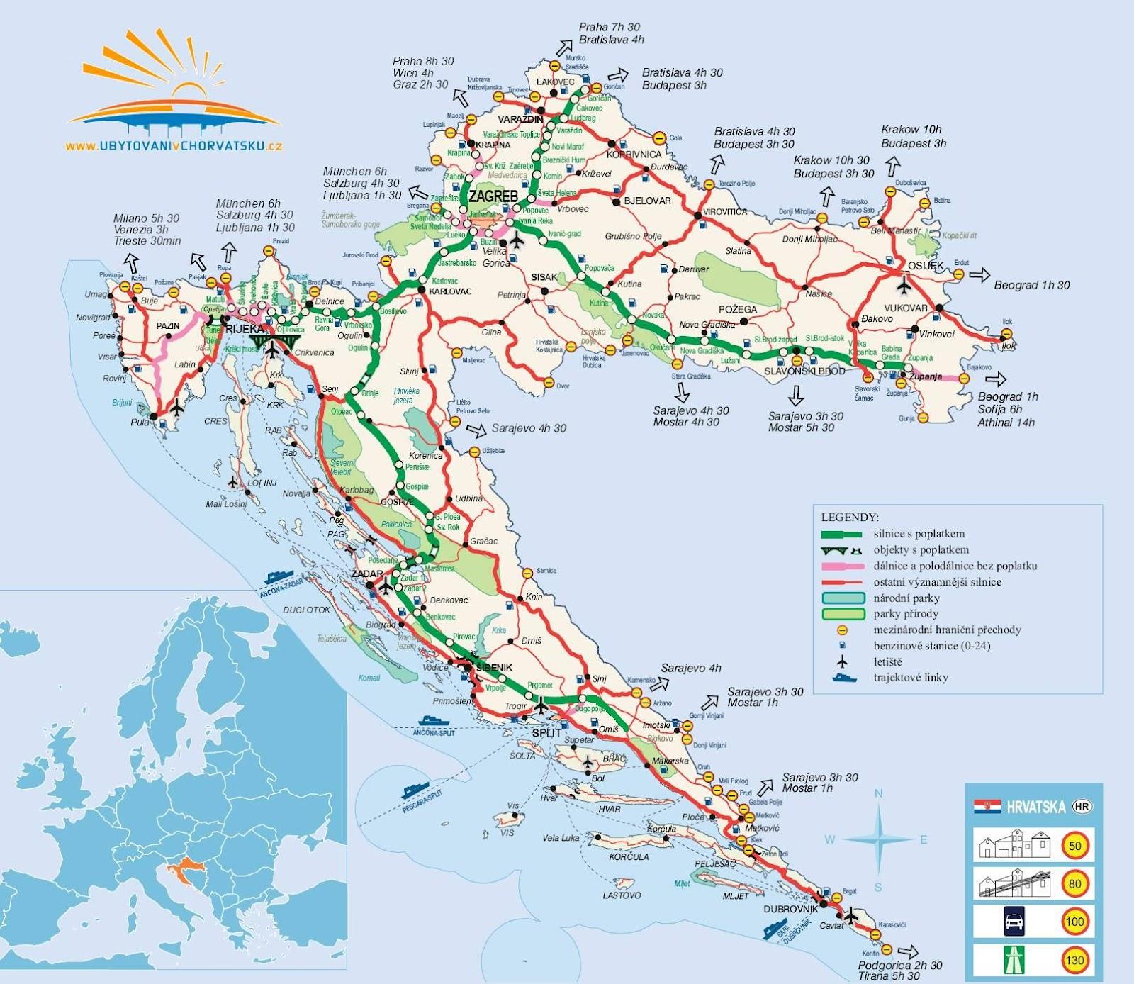 Croatia Rail Map Pdf - Kosovo map hd pdf