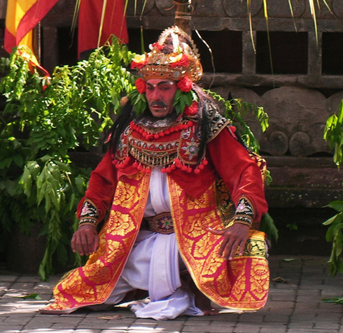 Barong Bali Traditional Dance