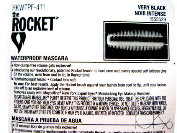 Maybelline Volum'Express The Rocket Mascara Waterproof
