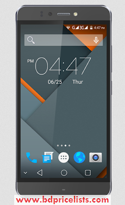 Symphony Xplorer P6 2GB RAM version Mobile Full Specifications And Price in Bangladesh