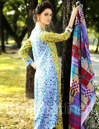 Nishat Linen Summer Collection 2014