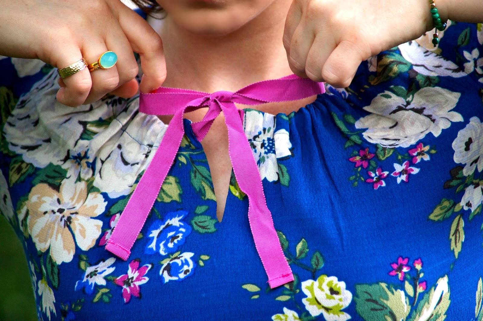 cath kidston hampstead rose crepe tea dress