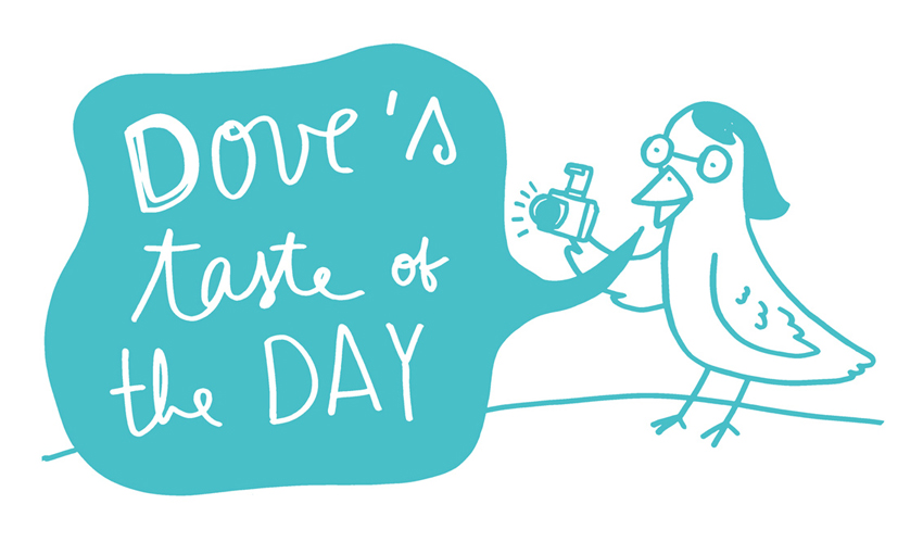dove&#39;s taste of the day