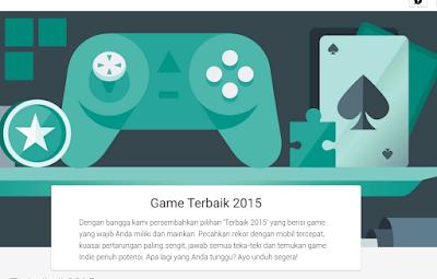 10 Game Terbaik Tahun 2015 versi Google Play Store