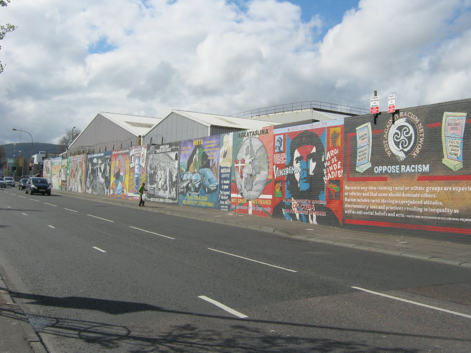 Mike 39 s blog belfast and dublin for Dublin wall mural