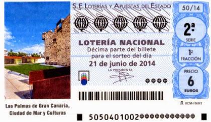 Lotería Nacional del sábado 21 de junio en Las Palmas de Gran Canaria