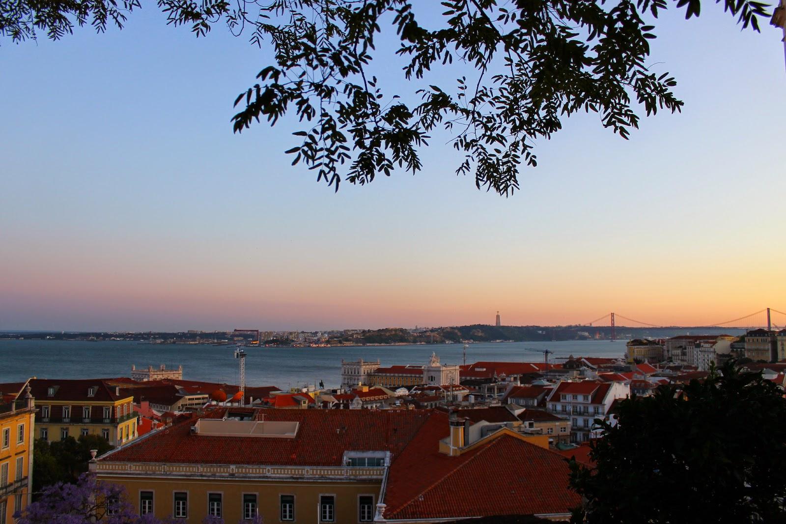 Lisboa y el río tajo