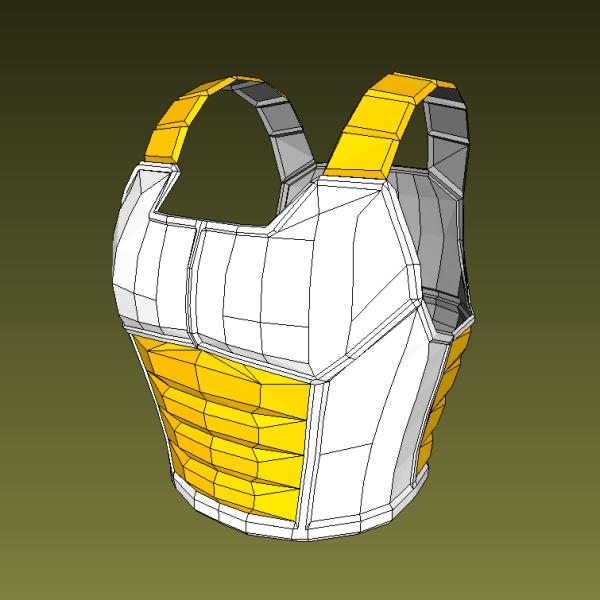 Dragon Ball Z Saiyan Armor