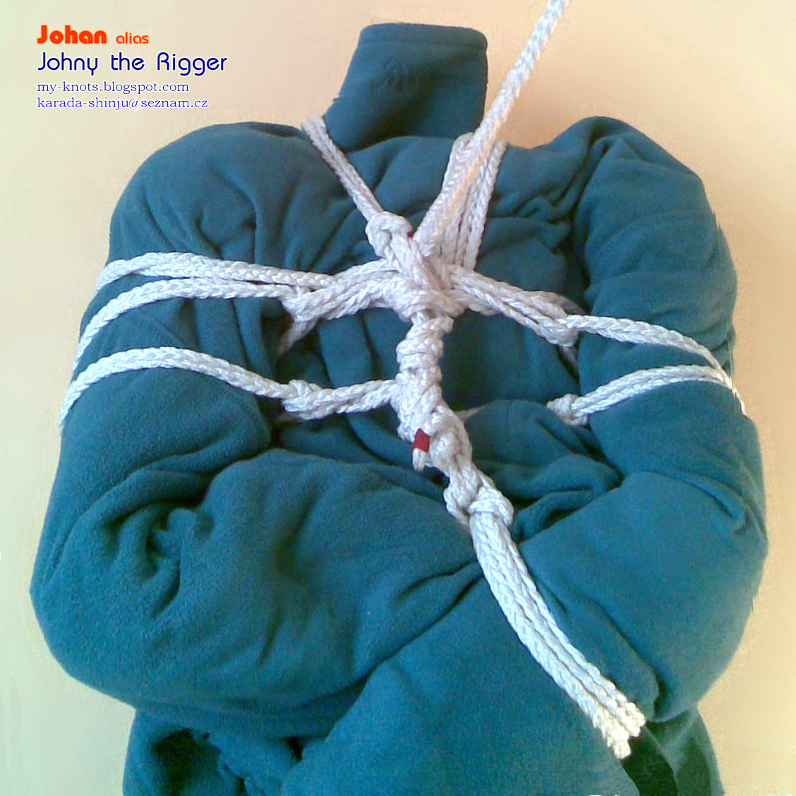 Rope Rebirth http://my-knots.blogspot.com/2011/05/nawa-shibari-tutorial-water-caltrop-v-2.html