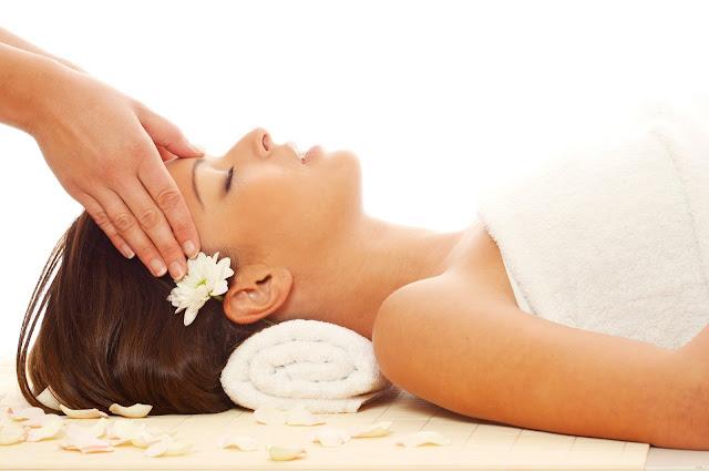 Relaxační procedury wellness.