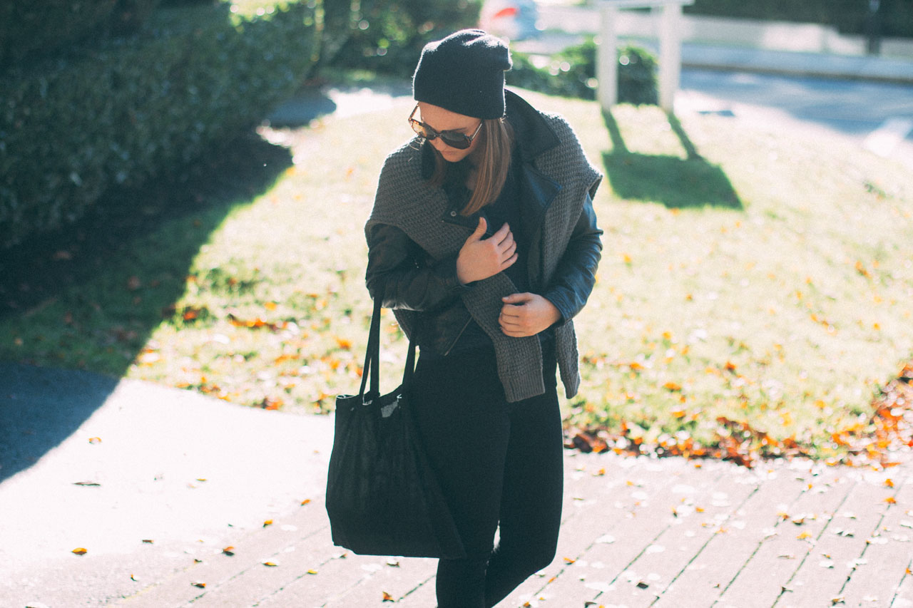 Fall outfit layers - Canadian Fashion and style blog
