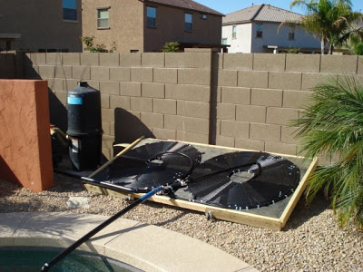 diy homemade solar pool heater
