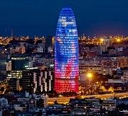 Torre Agbar, Barcelona.