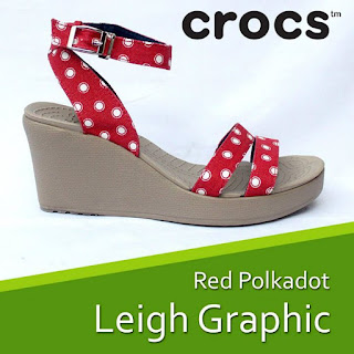 Crocs Leigh Graphic wedges