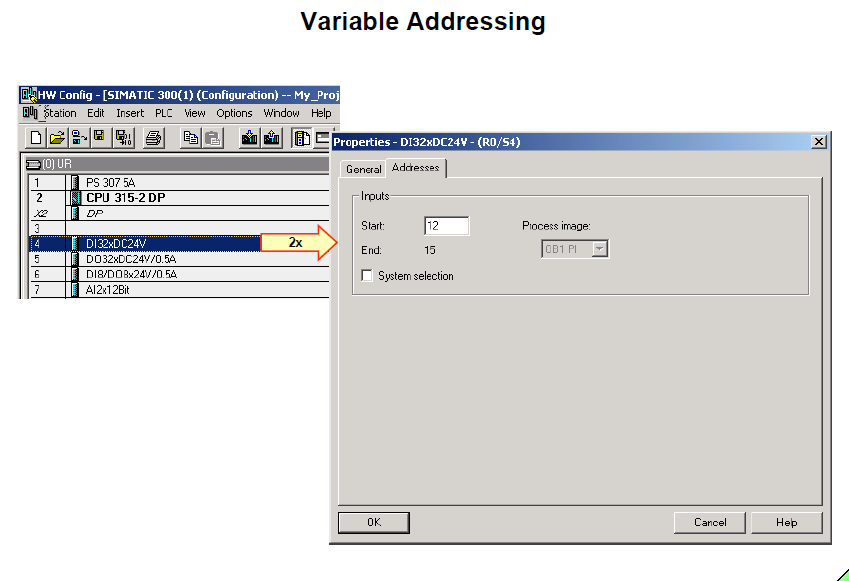 Variable Addressing