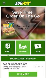 Subway App Screenshot 1
