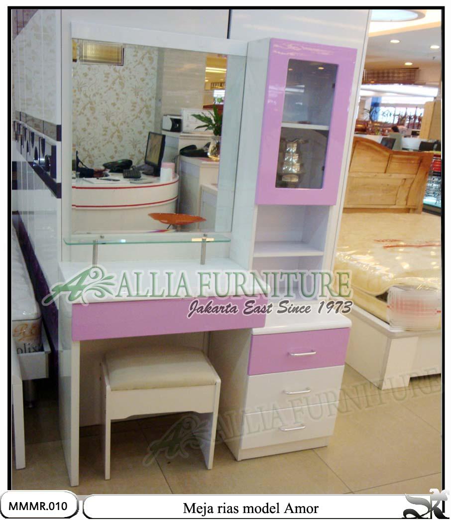 Meja make up rias minimalis modern Amor - Allia Furniture