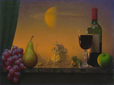 Magistrales Bodegones con Uvas Peras y Otras Frutas