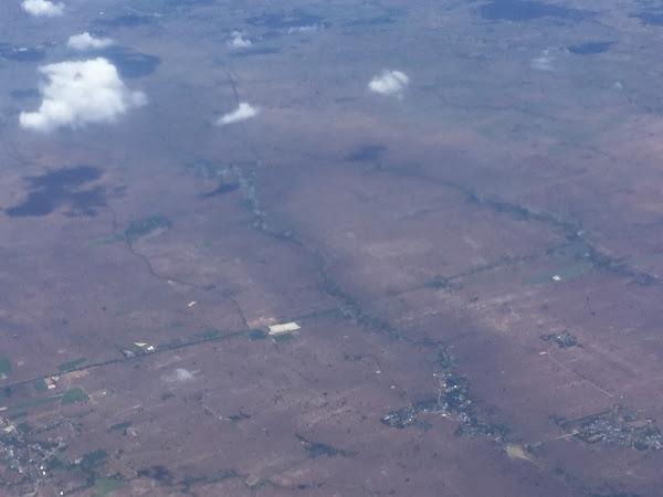 タイ東北部上空