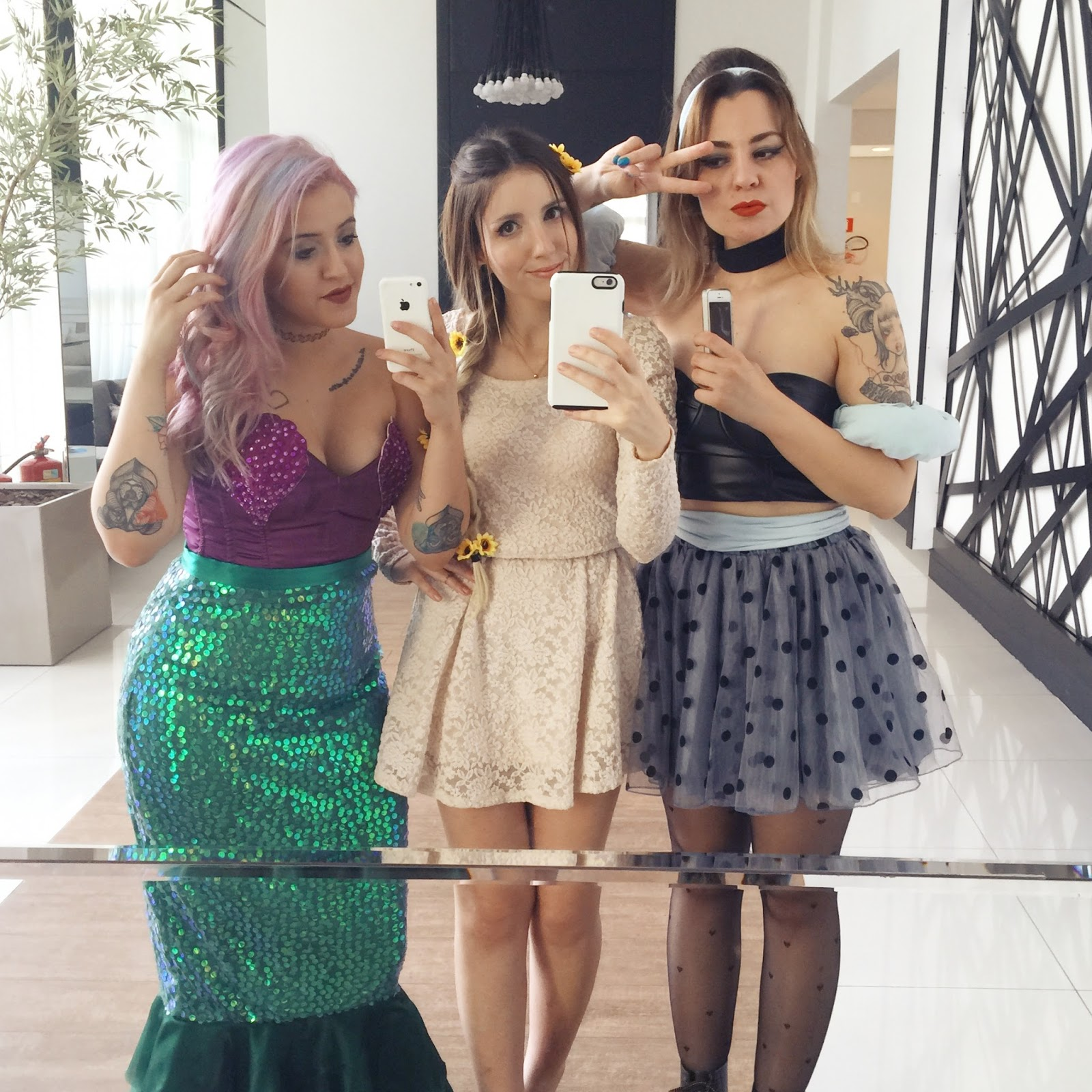 Halloween Princesas da Disney