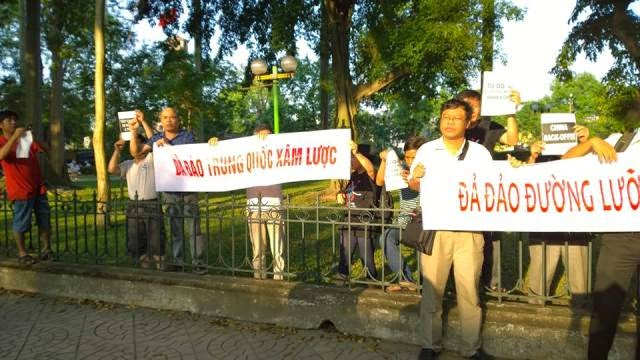 1016899 656303704447121 4479412674627645157 n Preview of Anti China Protest in Front Of Chinese Embassy in Hanoi