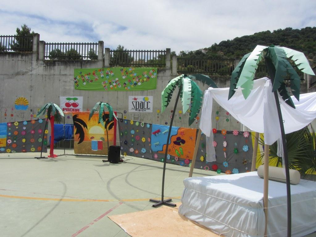fiesta ibicenca final de curso 2013 - Decoracion Fiesta Ibicenca