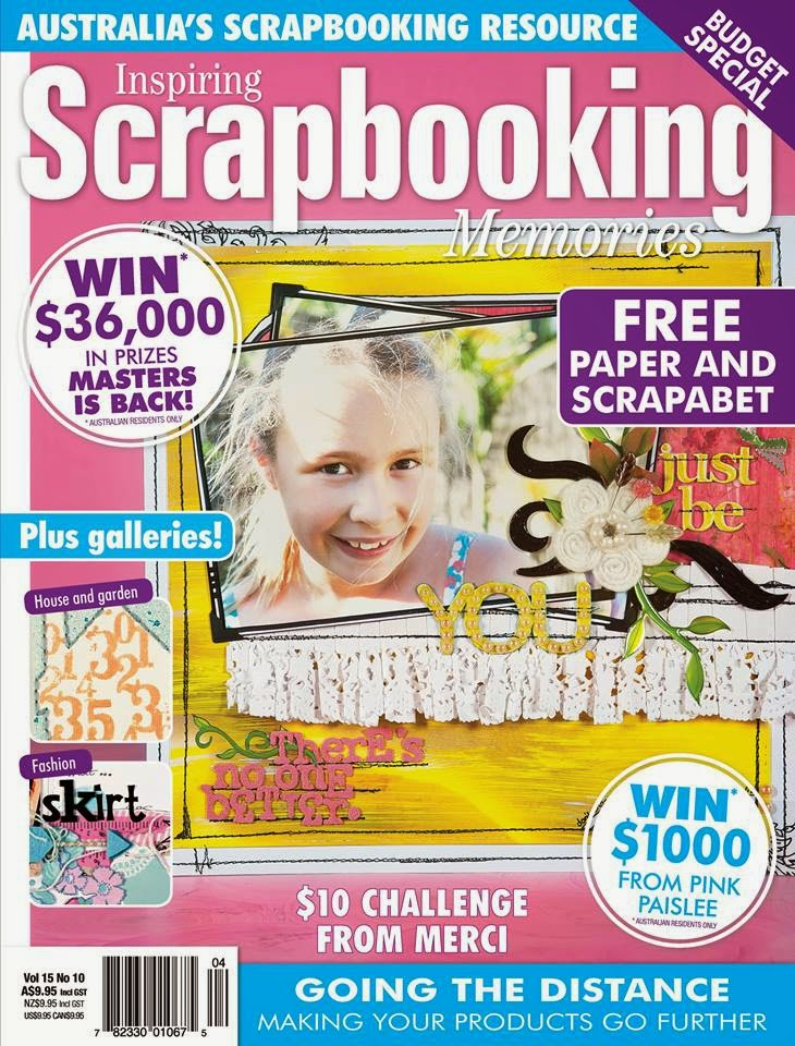 Scrapbooking Memories Vol 15 No 10 Covergirl!