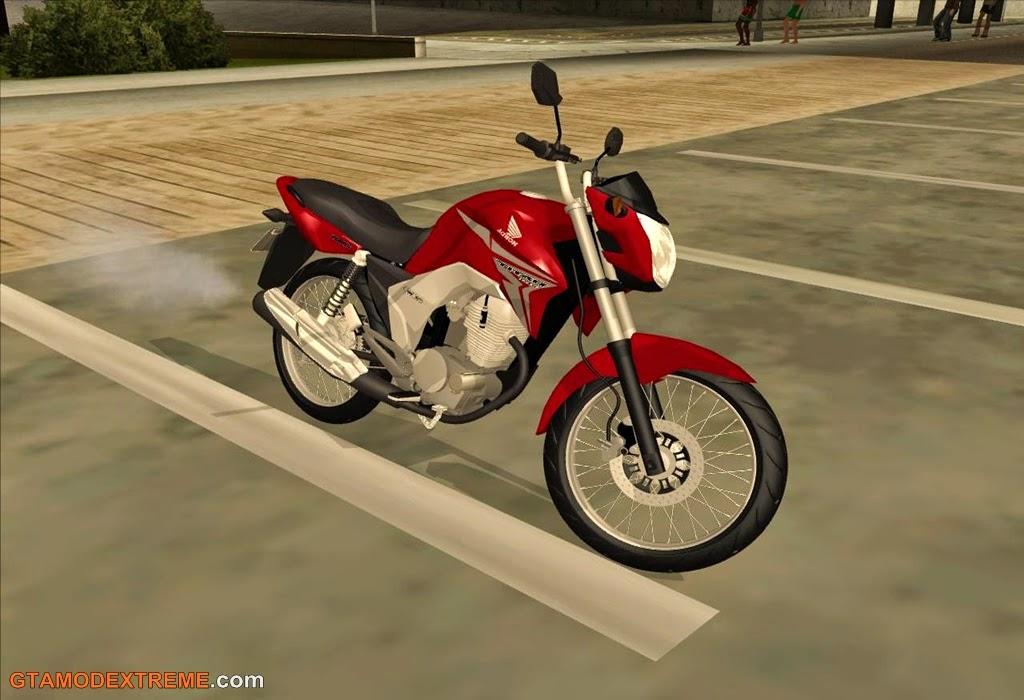 Baixar moto Honda CG Titan 150 Para GTA San Andreas