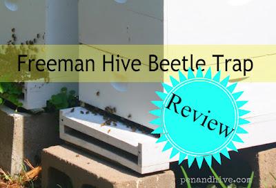 freeman hive beetle trap