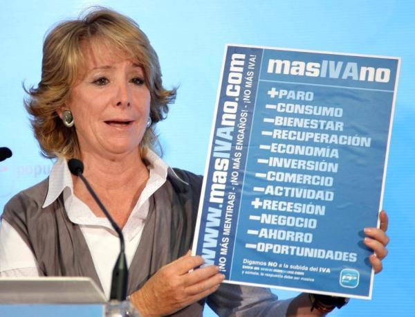 Urgente !! : Inminente subida del IVA !!!! Aguirre+IVA