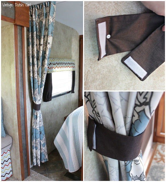 Two Bedroom Travel Trailer: Vintage Dutch Girl: Travel Trailer Makeover, Part 8