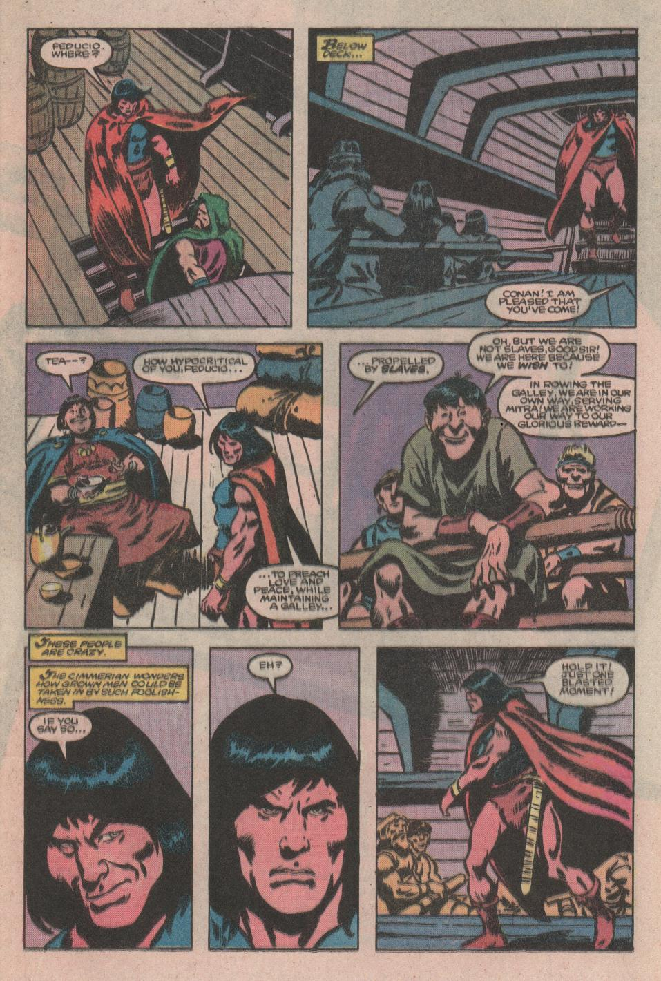 Conan the Barbarian (1970) Issue #176 #188 - English 9