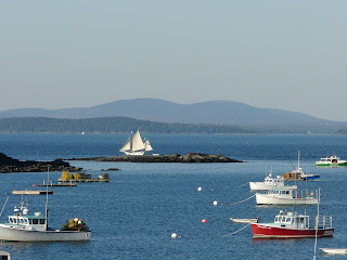Boats in Bar Harbor, Maine