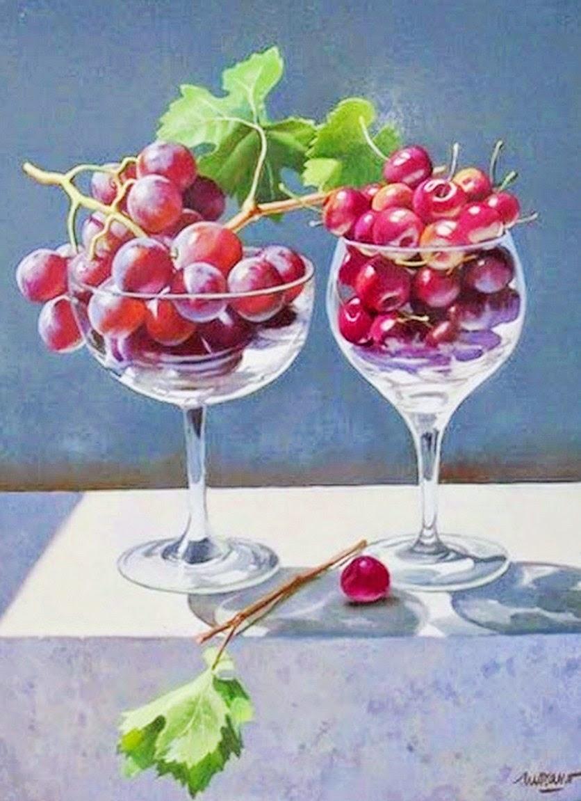 Cuadros modernos pinturas y dibujos bodegones para la - Cuadros para la cocina ...
