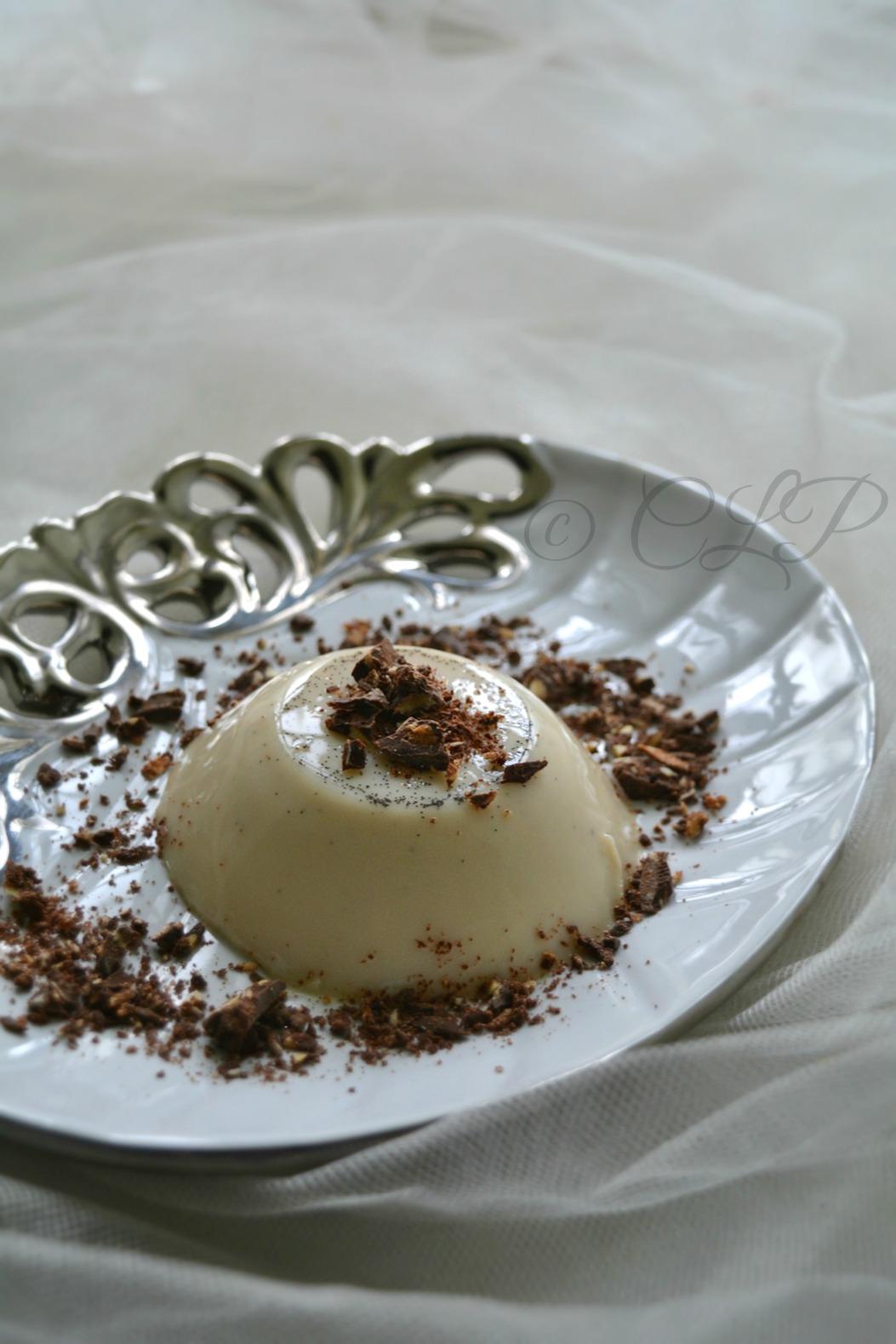 Cook like Priya: Vanilla Bean Pudding | Eggless Pudding | Agar agar ...