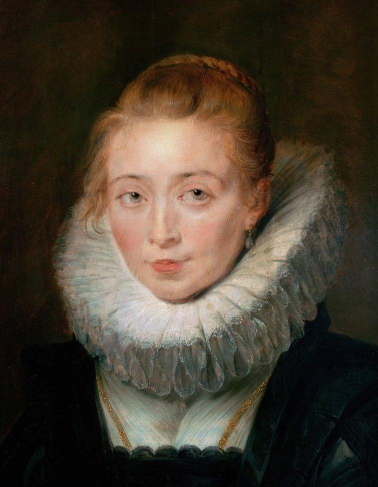 "Rubens (original)   ""Infanta's Waiting-maid in Brussels"", 1623-25.    The Hermitage. (img source - Wikimedia)"
