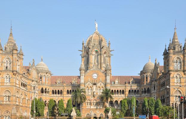 Victorian Gothic Revival Chhatrapati Shivaji Terminus India