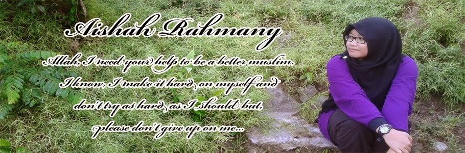 Aishah Rahmany