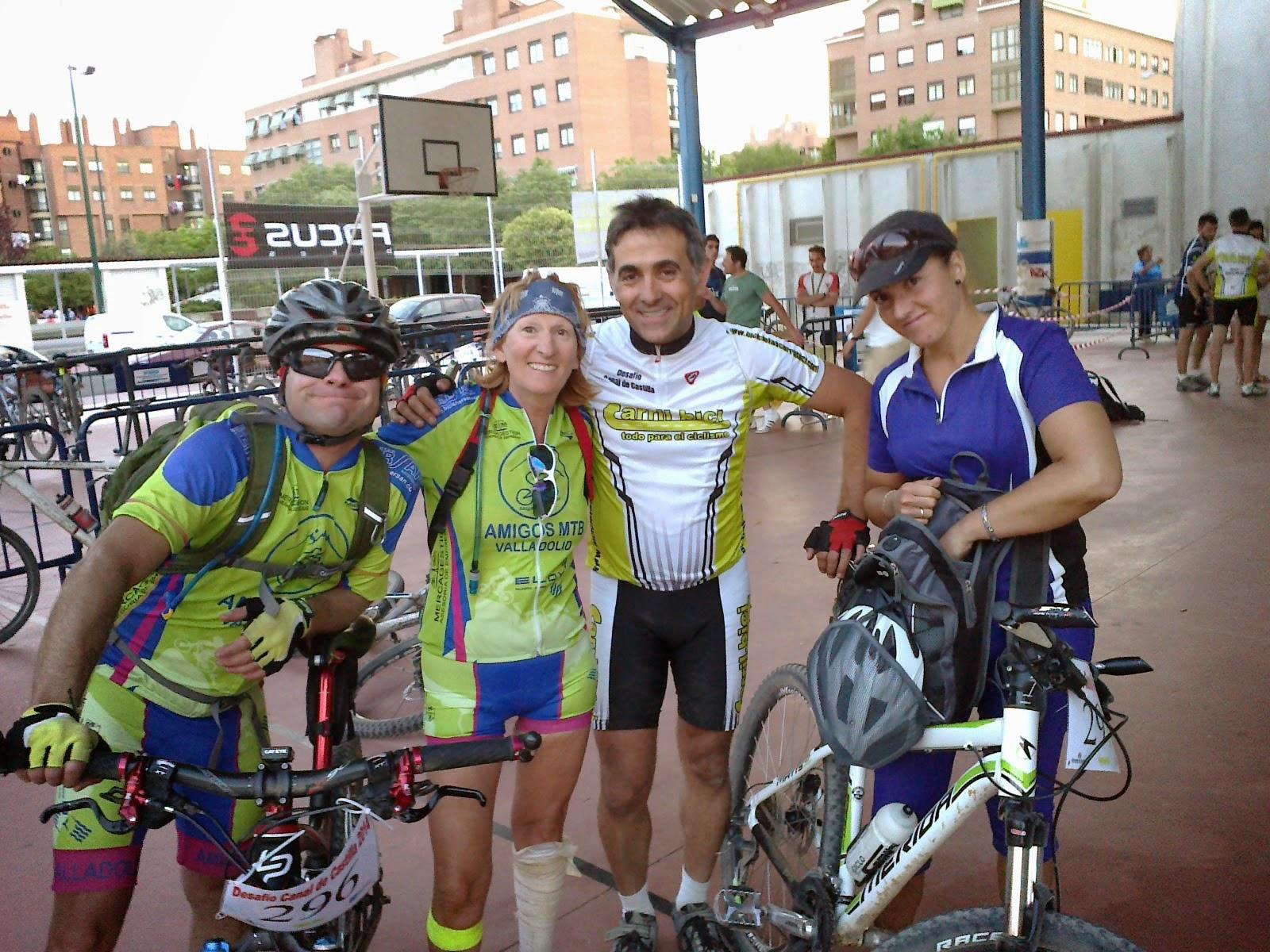 VI Desafío del Canal de Castilla 2014