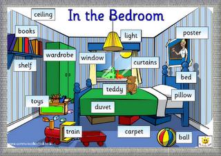 forma divertida de como aprender las partes de la casa en