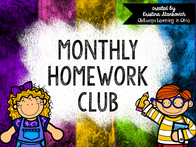 https://www.teacherspayteachers.com/Product/Homework-Club-1482903
