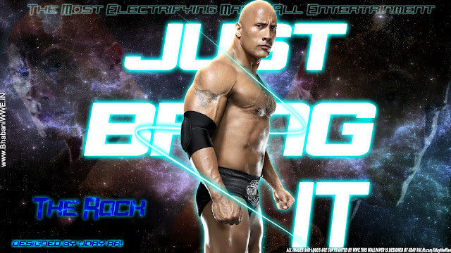 "Download The Rock - ""Just Bring Him Back"" HD Wallpaper, the rock wallpaper 2013, the great one wallpaper, rock wwe 2013 wallpaper"