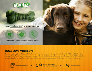 Minties Dog Treats - Free Sample