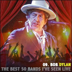 The Best 50 Bands I've Seen Live: 09. Bob Dylan