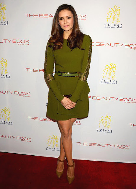 Actress, Model, @ Nina Dobrev - The Beauty Book For Brain Cancer Edition Two launch party in LA