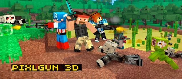 Pixel Gun 3D PRO Minecraft Ed. v4.6.3 Apk