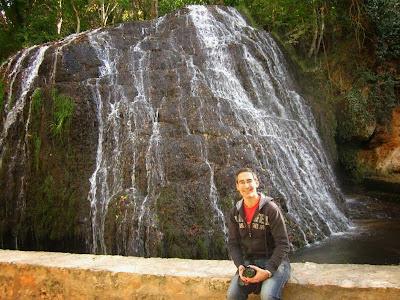 Cascada Iris in Monasterio de Piedra