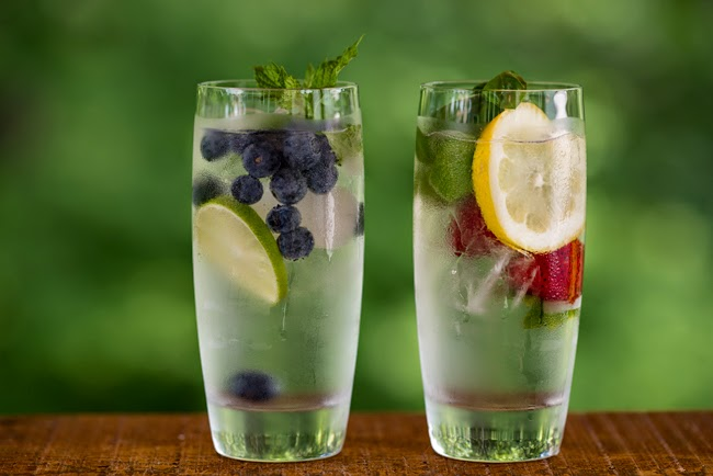 air rendaman buah,how to prepare infused water