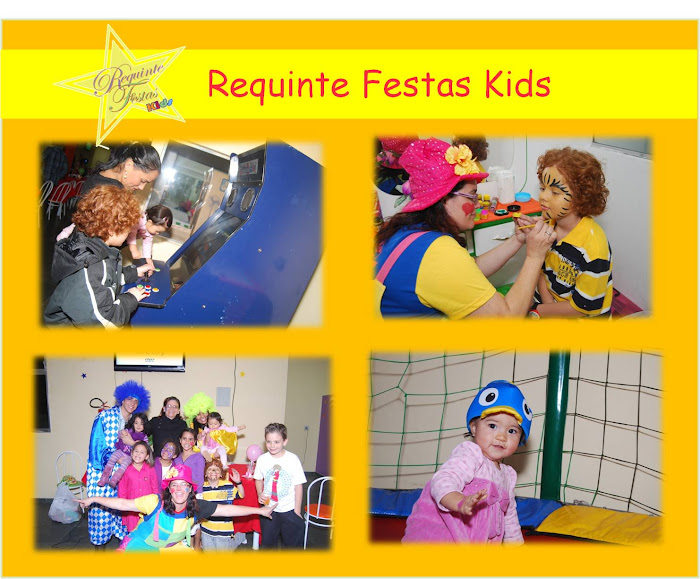 Festa Realizada no Requinte Kids