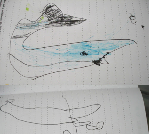 Drawings of a Three Year Old